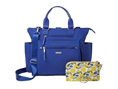 Baggallini New Classic 3-in-1 Convertible Backpack with RFID Phone Wristlet