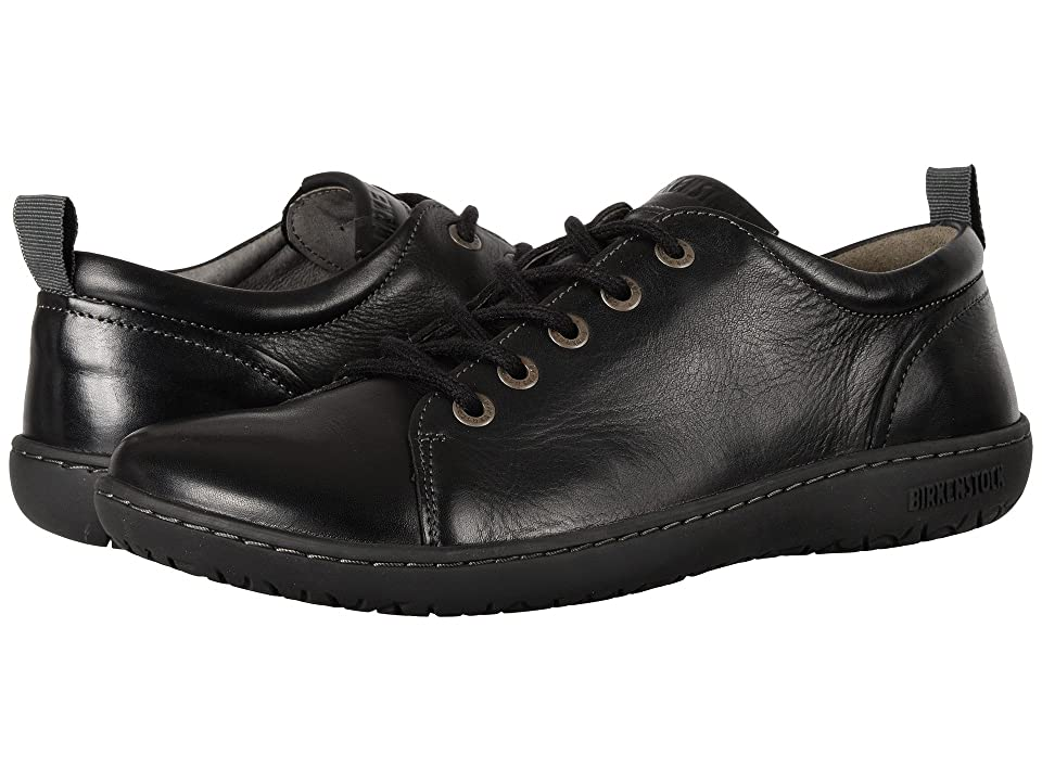 Birkenstock Islay (Black Leather) Women's Lace up casual Shoes