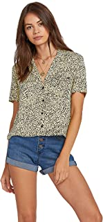 VOLCOM Women's Volcom Women's Gen Wow Slight Crop Boxy Short Sleeve Shirt Dress