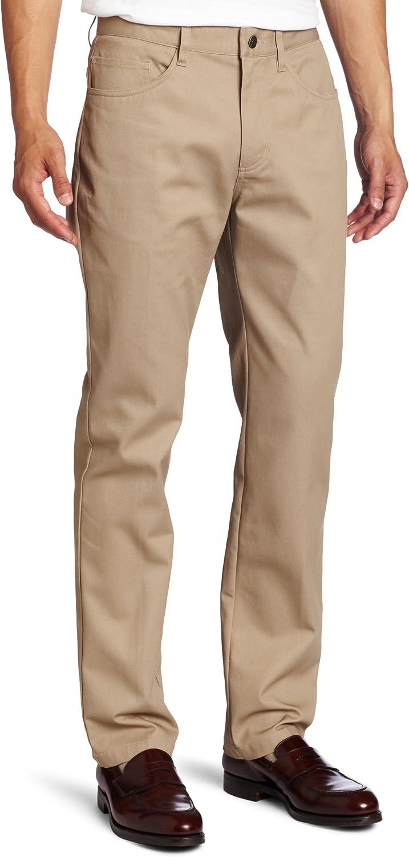 Lee Men's Slim Popular overseas Straight Pant Max 85% OFF Pocket 5