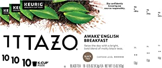 Tazo Awake English Breakfast K-Cup Pods For a Bold Traditional Breakfast-Style Tea Black Tea Caffeinated Tea Morning Drink...
