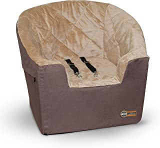 K&H Pet Products Bucket Booster Dog Car Seat Large Tan 14.5