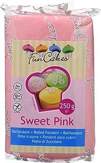 FunCakes Fondant, Color Rosa - 250 gr