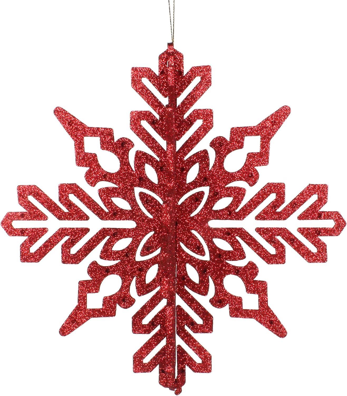 Vickerman Snowflake Max 90% OFF Decorative-Hanging-Ornaments trend rank 9