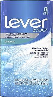Lever 2000 Bar Soap, Original 4 oz, 8 Bar