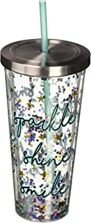 Best glitter tumblr cup Reviews