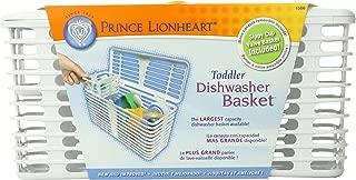 Prince Lionheart Deluxe Dishwasher Basket, Toddler