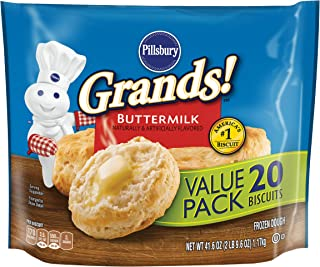 Pillsbury Grands Buttermilk Biscuits, 41.6 oz (Frozen)