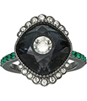 Black Baroque Ring