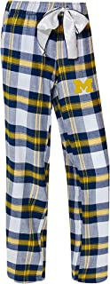 NCAA Womens-Headway -Flannel Plaid Pajama Pants Bottoms