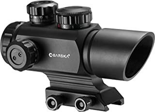 BARSKA AC12176 Multi Reticle Red Dot Optics, 1x 35mm, Matte Black