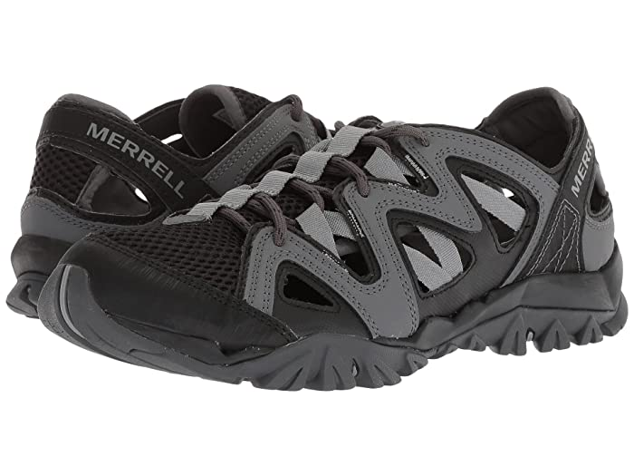 Merrell Black Tetrex Crest Wrap Water Sandals for men
