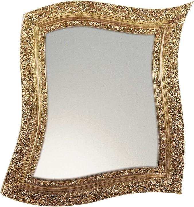 Specchio neo barocco oro arti e mestieri 0300C01