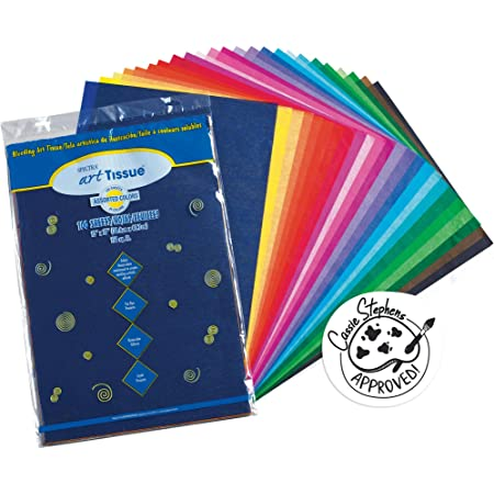 Pacon 0058506 Art Tissue PAPR 20X30 20SHT.ASSRT.COLRS 3 Pack Multicolor 20 Each Set
