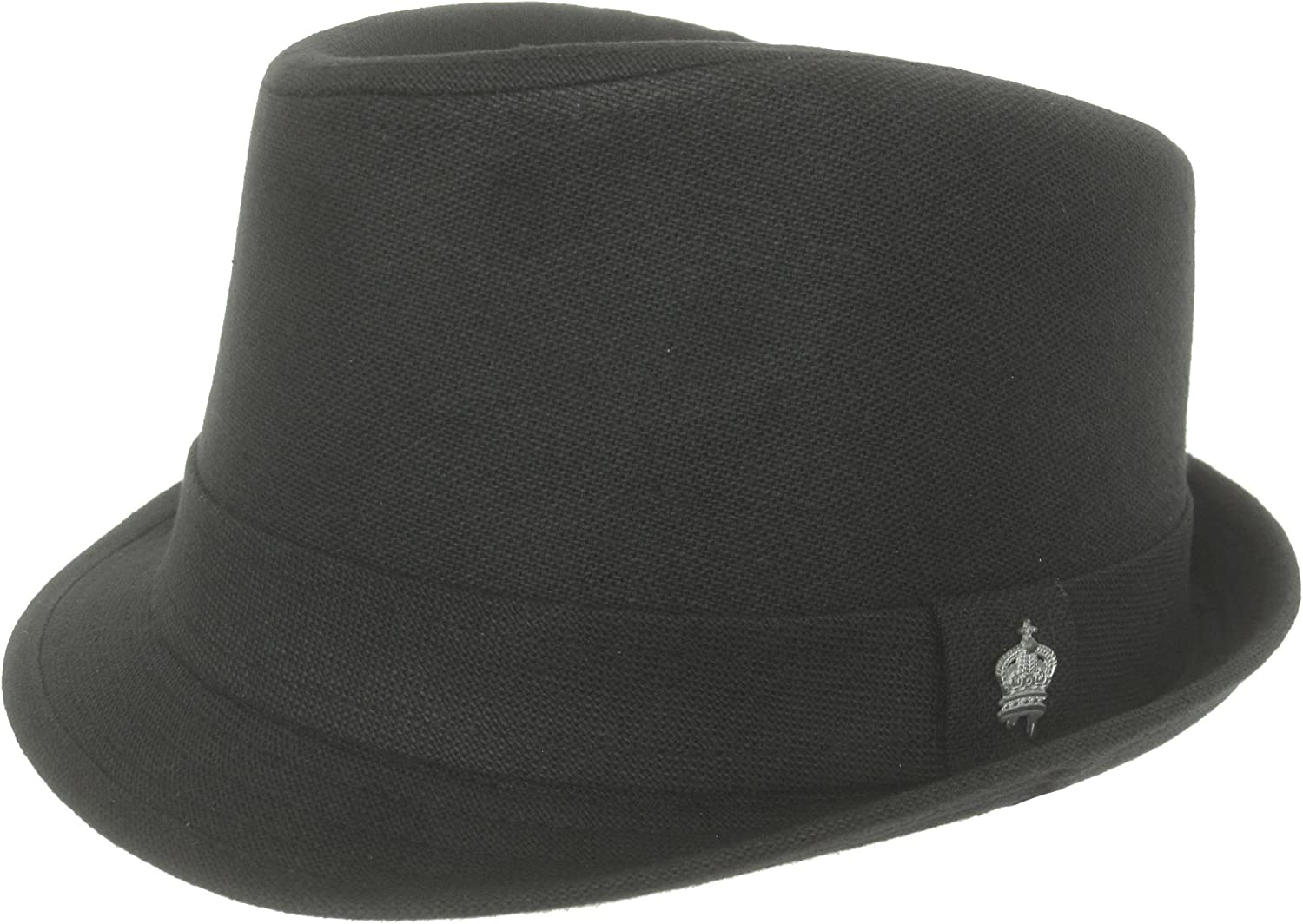 wholesale Christys Crown Portier Linen Free Shipping New Cotton Fedora Brim Stingy Blend Hat