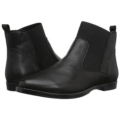Bella-Vita Rayna (Black Leather) Women