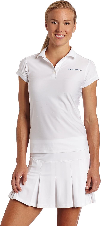 US Open CourtBlu Women's Challenger Cap Sleeve Polo Shirt