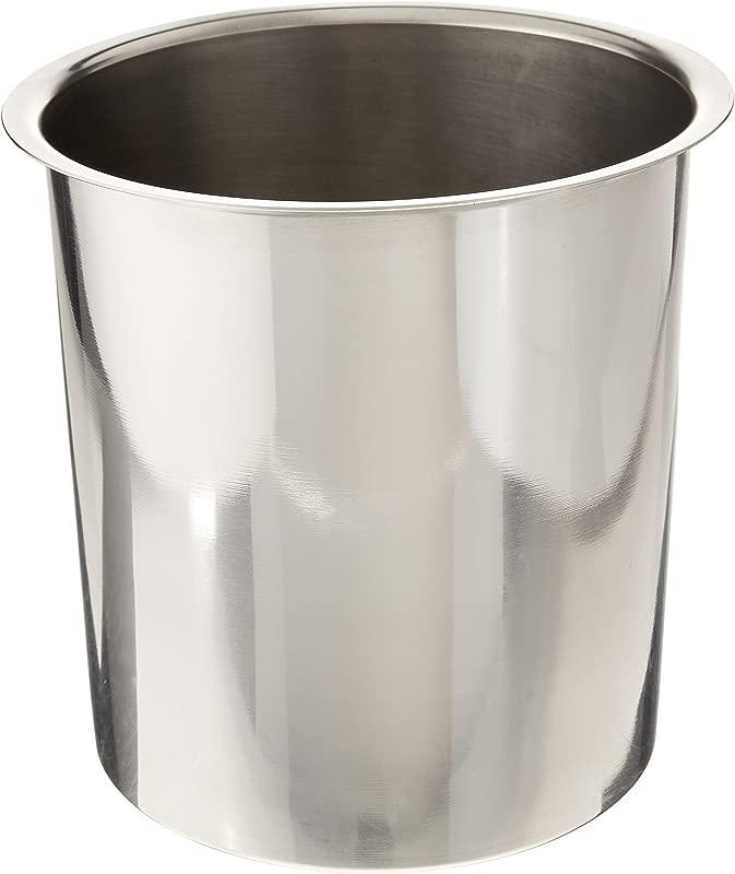 Bain Marie Pot Size 7 13 H X 7 13 W X 7 13 D