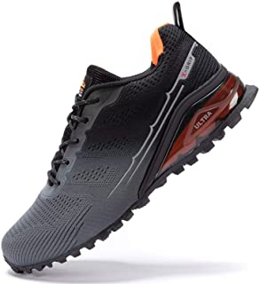 Kricely Men's Trail Running Shoes Casual Fashion Sneakers for Men Tennis Cross Training Shoe...