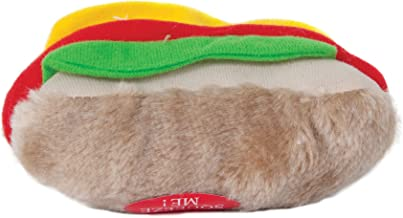 Aspen Pet Products Soft Bite Hot Dog Toy, Medium