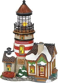 Department 56 New England Village West Haberdine Lighthouse Lit Animated Building, 7.95