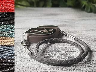 Leather Bolo Wrap Bracelet - Bellabeat Leaf