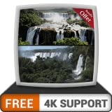 FREE Waterfall Live HD - Enjoy the beautiful scenery on your HDR 4K TV, 8K TV and Fire Devices as a wallpaper, Decoration for Christmas Holidays, Theme for Mediation & Peace