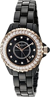 Sturhrling Women'S Black Dial Stainless Steel Band Watch - 530S2.114Ob1,