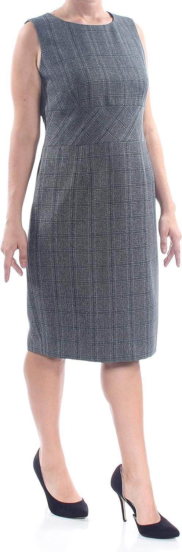 Kasper Women's Plaid Sheath Dress