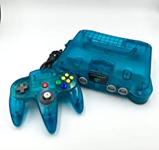 Nintendo 64 System - Video Game Console - Ice (Renewed)