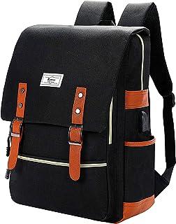 Unisex College Bag Fits up to 15.6'' Laptop Casual Rucksack Waterproof School Backpack Daypacks