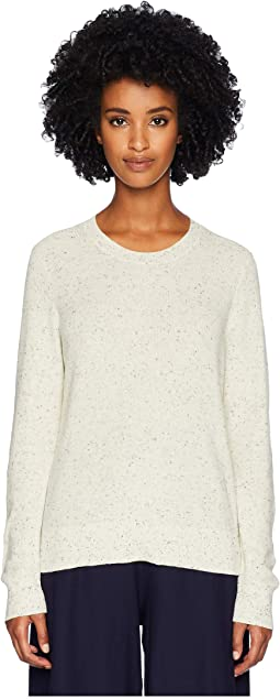 Organic Cotton Speckle Crew Neck Top