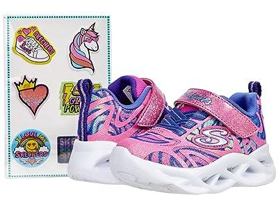 SKECHERS KIDS Sport Lighted Twisty Brights Dazzle Flash 302305N (Toddler)