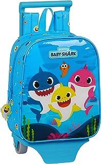 612060280 Mochila Guardería con Carro Safta de Baby Shark, 220x100x270mm