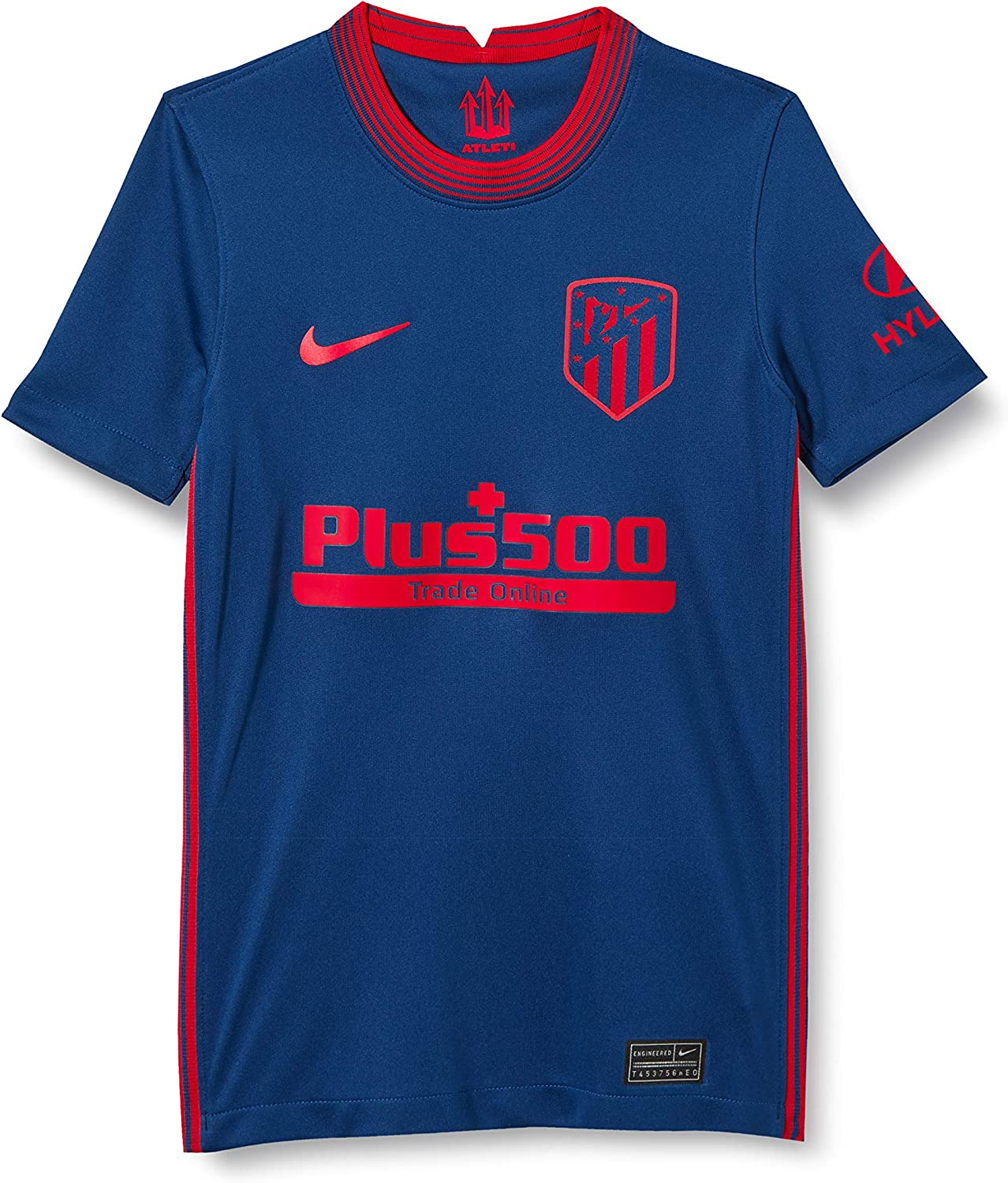 Nike 2020-2021 Raleigh Mall Atletico Special sale item Madrid Away Soccer T-Shirt Jers Football