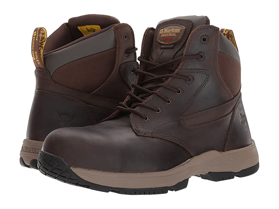 Dr. Martens Work Corvid SD Non-Metallic Composite Toe 7-Eye Boot (Gaucho Connection) Work Lace-up Boots