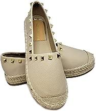 VICTORIA ADAMES Kylie Espadrilles Shoes Pewter