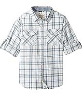 Lucky Brand Kids - Long Sleeve Plaid Shirt (Big Kids)