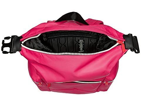 Mochila Mini Hunter Brillante Rosa Nylon Original FET1TSWqp