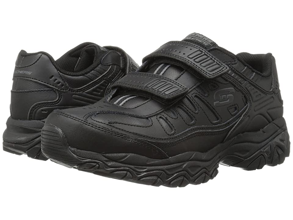 SKECHERS Afterburn Memory Fit Final Cut (Black) Men