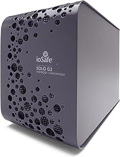 ioSafe Solo G3 3TB Fireproof & Waterproof External Hard Drive, Pewter Gray (SK3TB)