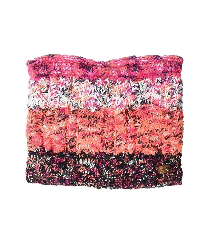Roxy  Telma Block Collar (Living Coral) Scarves