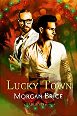 Lucky Town: A MM Psychic Detective Romance Adventure (Badlands Book 2) Kindle Edition