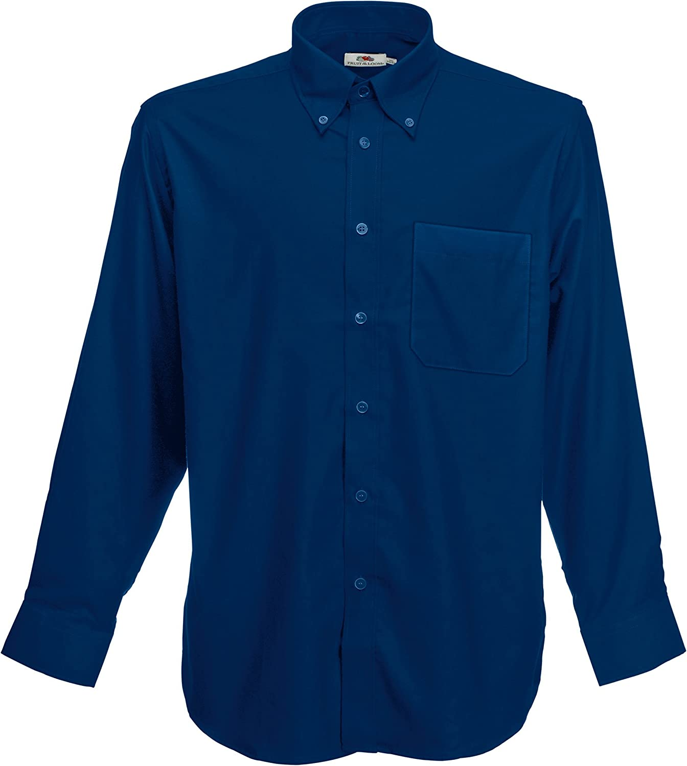 Fruit of the Loom Oxford Chemise /à manches longues SS114