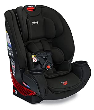 Britax One4Life ClickTight All-In-One Car Seat – 10 Years of Use – Infant, Convertible, Booster – 5 to 120 Pounds - SafeWash Fabric, Eclipse Black: image