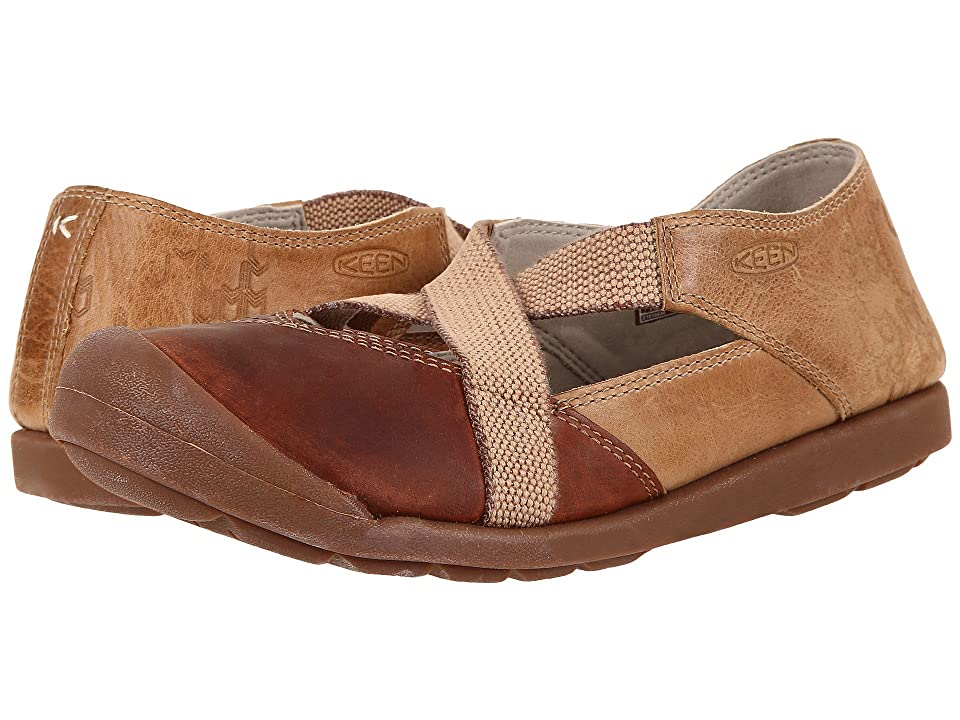 Keen Lower East Side MJ (Red Brown/Powder) Women