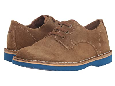 Florsheim Kids Navigator Plain Toe Oxford Jr. (Toddler/Little Kid/Big Kid) (Mushroom Suede) Boy