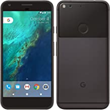 Google Pixel Factory Unlocked 128GB 5 Inch - Quite Black (Renewed)
