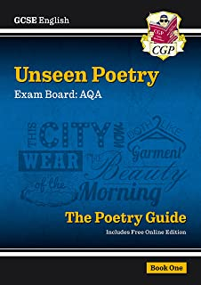 New GCSE English AQA Unseen Poetry Guide - Book 1 includes Online Edition