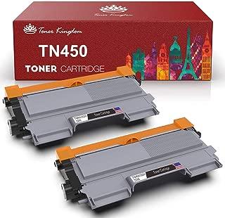 Toner Kingdom Compatible Toner Cartridge Replacement for Brother TN450 TN-450 TN420 for Brother HL-2240 HL-2270DW HL-2280DW MFC-7360N MFC-7860DW Printer(Black, 2-Pack)